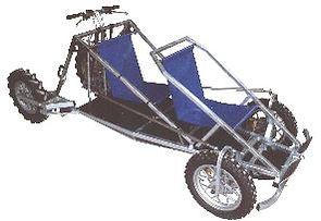 Dog drawn cart