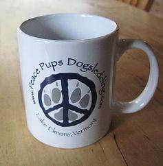 Peace Pups coffee mug
