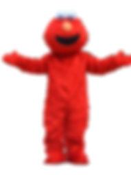 elmo inspired mascot