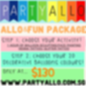 singapore kids party package