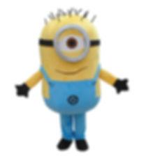 minion mascot rental