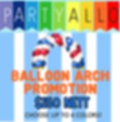 singapore balloon arch cheap decoration