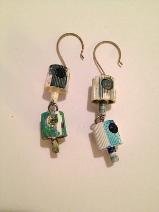 OsoBombin Spraycan Earrings