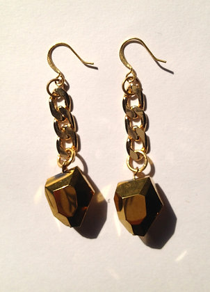 Chain Rock Earrings
