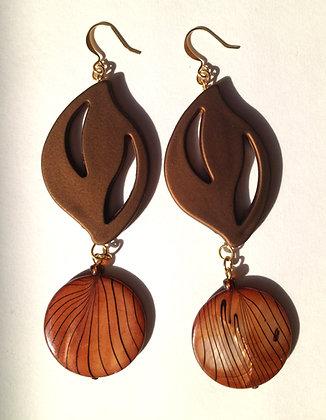 Autumn Moon Earrings