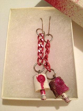 OsoBombin Spraycan Earrings
