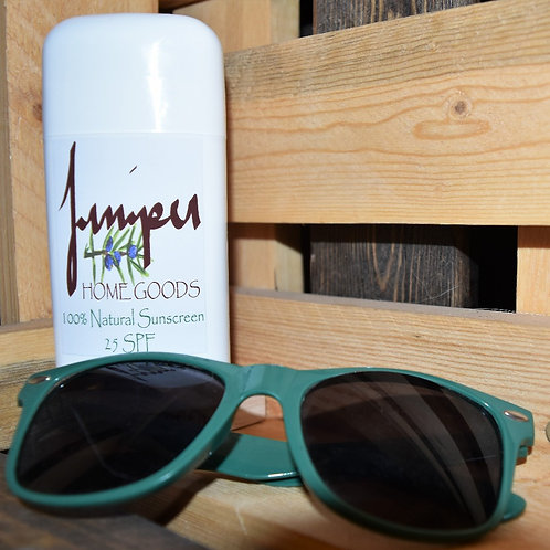 100% Natural Sunscreen 25 SPF