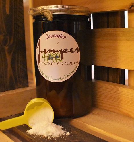 100% Natural Laundry Detergent - Lavender
