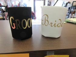 Bride & Groom Koozie