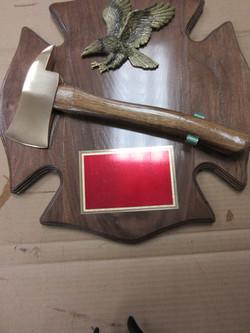 Fireman's Cross with Eagle