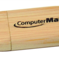Bamboo Cased Memory stick