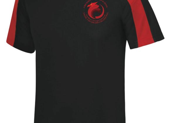 Crickhowell High - Black P.E. T-shirt