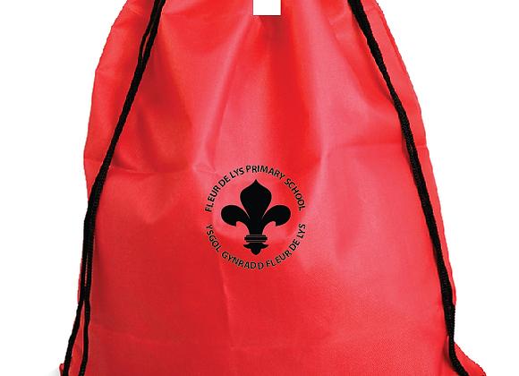 Fleur-de-lys Primary- Gym Bag