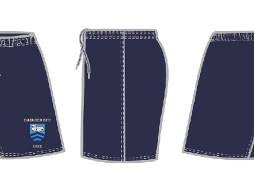 Bargoed RFC Training Shorts