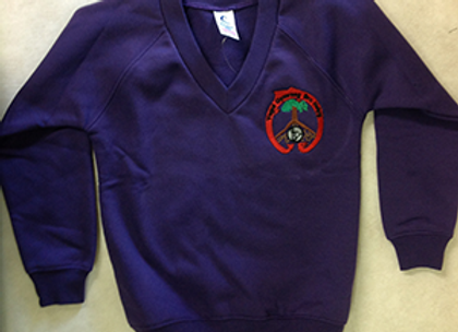 Ysgol Bro Helyg V Neck Sweatshirt
