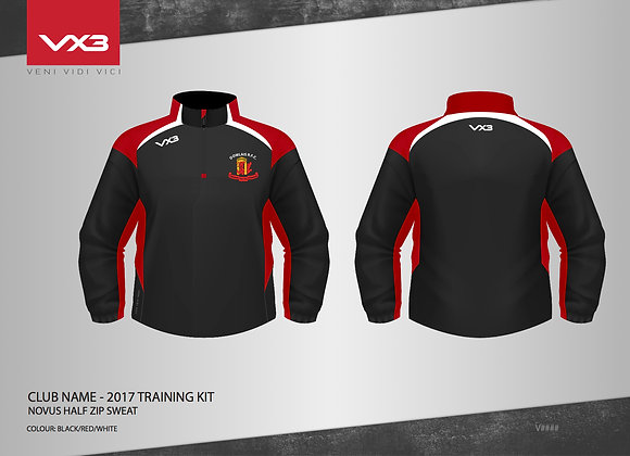 Dowlais Half Zip Sweat