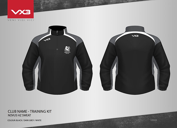 Hirwaun Half Zip Sweat