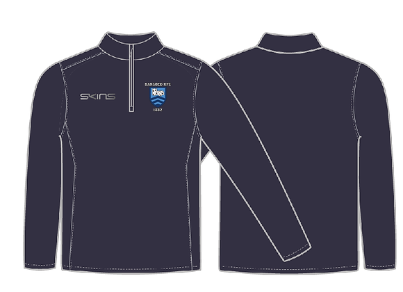 Bargoed RFC 1/2 Zip
