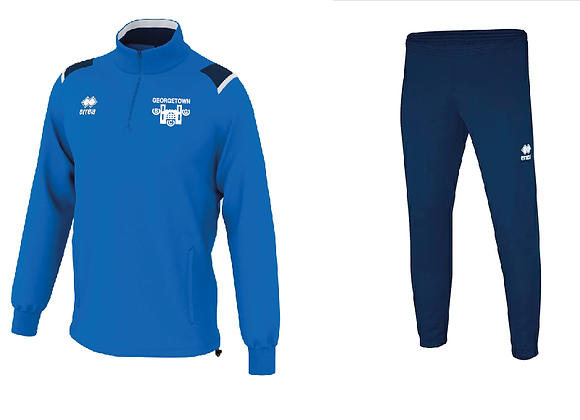 Georgetown - Tracksuit (Navy and White shoulder)