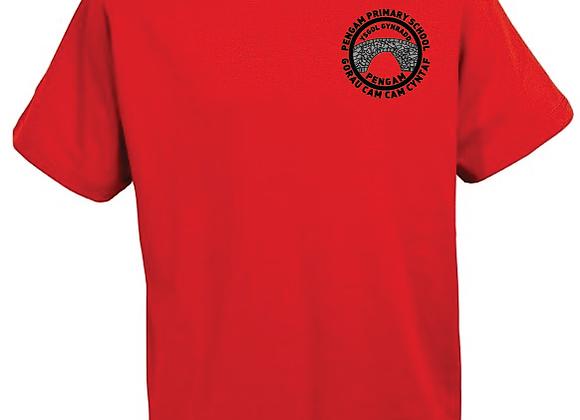 Pengam Primary - P.E. T-Shirt