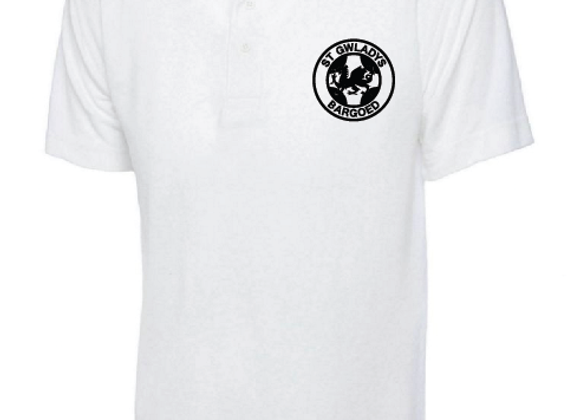St Gwladys Primary - Polo (RED & WHITE)