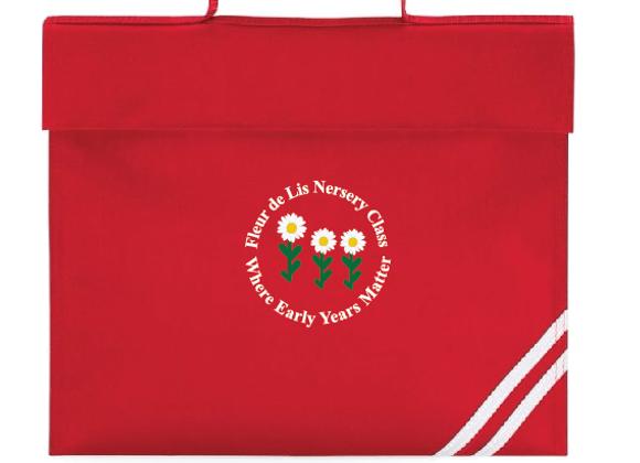 Fleur-de-lys Nursery - Bookbag