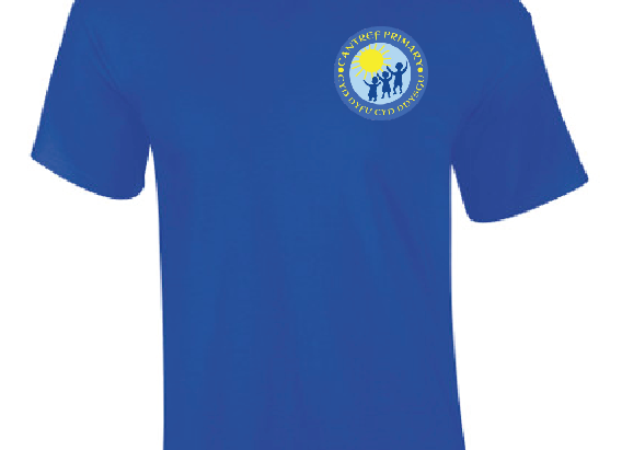 Cantref Primary School P.E. T-Shirt