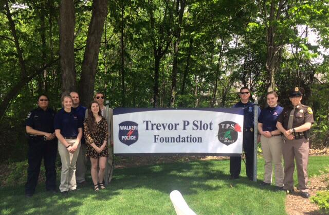 Trevor Slot Foundation Check Presentation