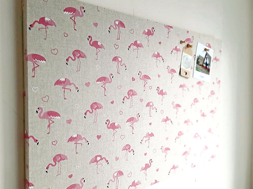 Flamingo Cork Notice Board