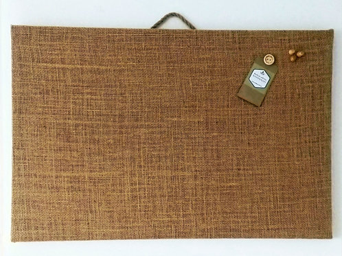 Hessian Covered Cork Notice Board