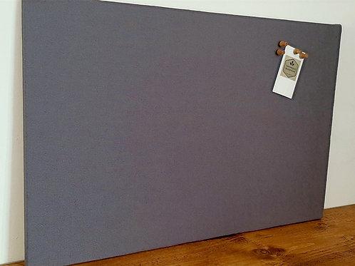 Charcoal Cork Notice Board