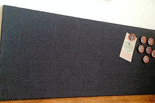 Black Hessian Magnetic Board