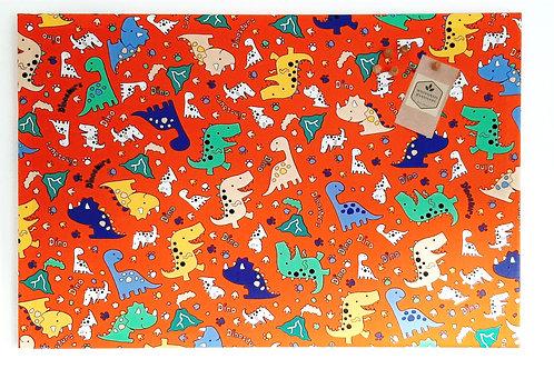 Dinosaurs Children's Notice Board Multicoloured