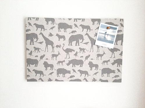 Jungle Animals Children's Notice Board