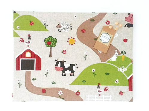 Farm Animals Children's Notice Board