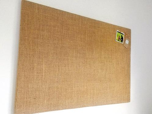 Hessian Fabric Notice Board