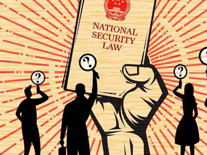 HK National Security Law requirement: The 'Johannesburg Principles'