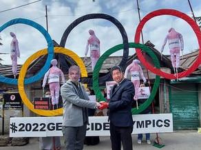 Boycott 2022 Beijing Winter 'Genocide' Olympics