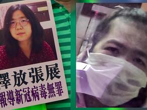 Citizen journalist Zhang Zhan reported on Wuhan virus sentenced to 4 years prison