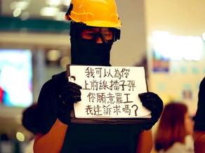 Hong Kong protesters call out  香港抗議者兌現