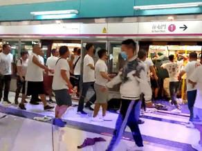 Second anniversary of 721 Yuen Long MTR train attack