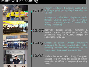 Charge CCP and HK government officials with 'genocide' against HK people