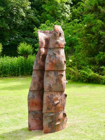 """""""Fold"""" Fresh Air Sculpture 2019"""