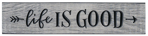 Life is Good | Wood Sign