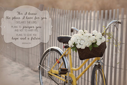 For I know the plans I have for you, Jeremiah 29:11