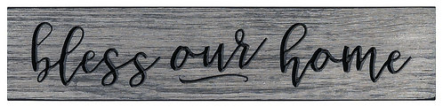 Bless Our Home | Wood Sign