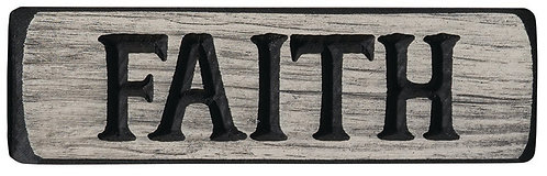 Faith | Wood Sign