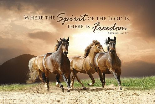 Where the Spirit of the Lord is there is freedom, 2 Corinthians 3:17