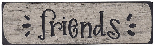 Friends | Wood Sign