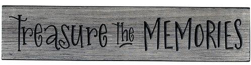 Treasure the Memories | Wood Sign